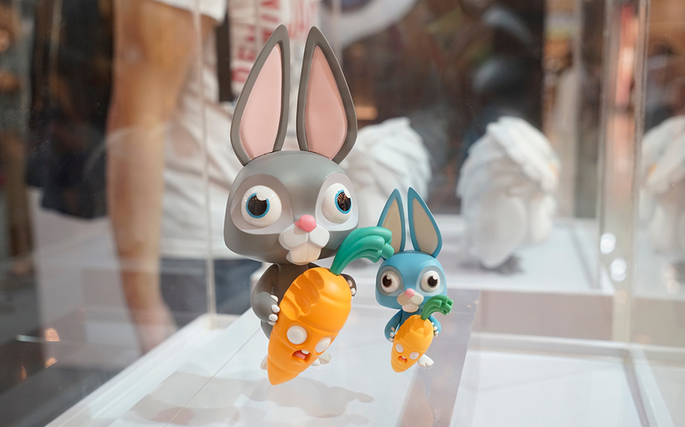 Coarse Expo Thailand Bangkok Play House Bunny