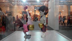 Coarse Toy Sculpture Boxe Rooster ToyExpo Bangkok