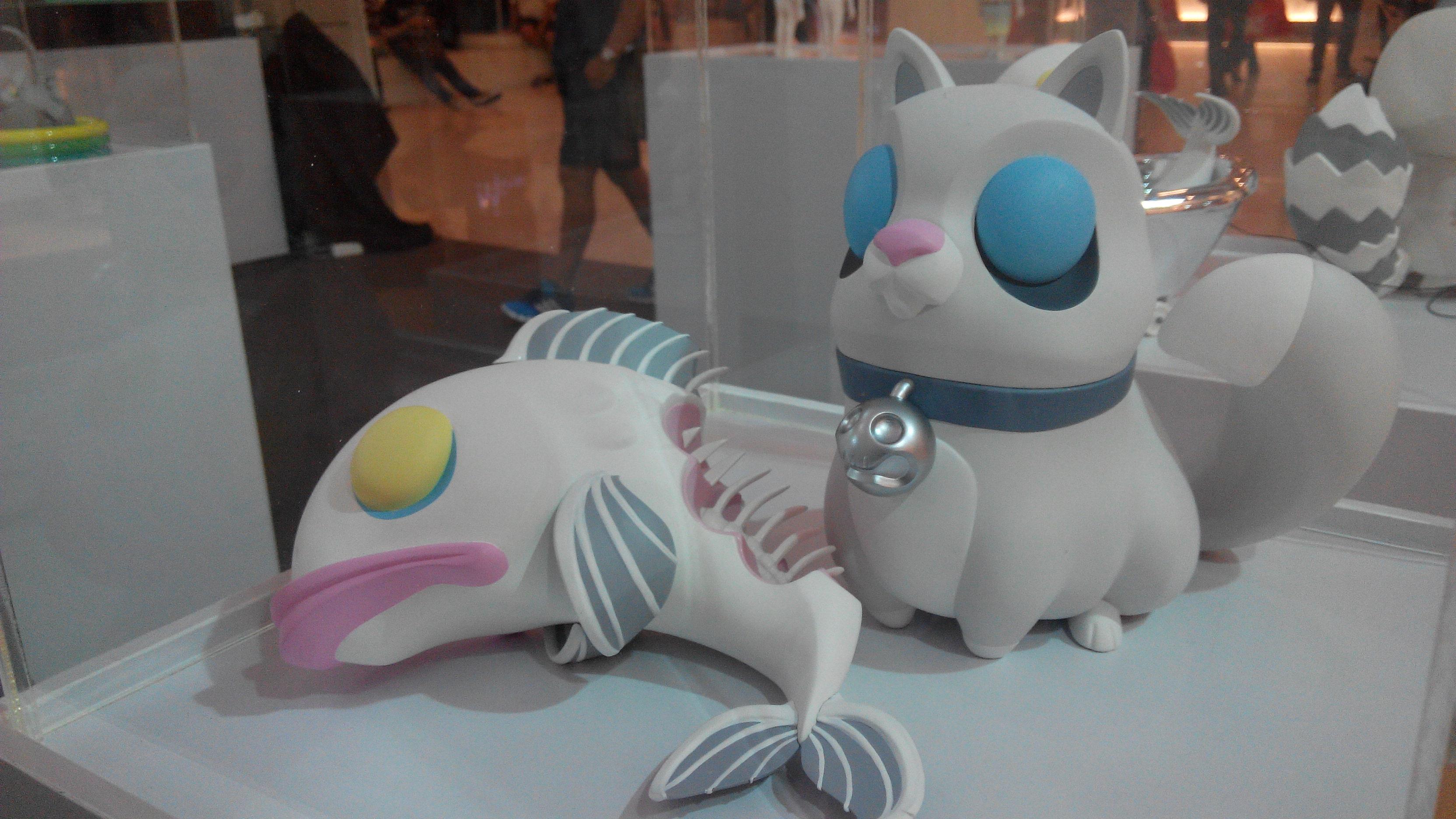 Coarse Toy Sculpture cat fish ToyExpo Bangkok.jpg.jpg