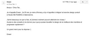 Erwan ISD Rubika Valacenciennes question designer produit