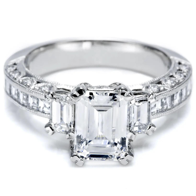three stone diamond rings sparkling symbolism zales diamond wedding rings Three Stone Diamond Ring Styles