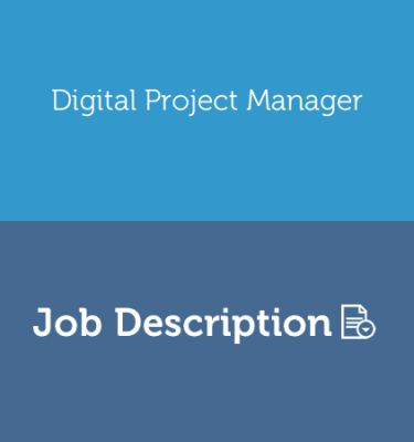 AGENCY Digital Project Manager Job Description Template