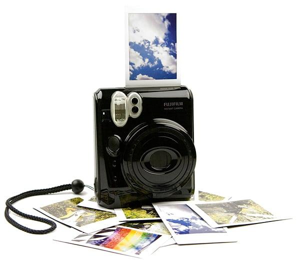 Fujifilm Instax Piano Black mini 50S