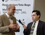 Farzad Mostashari & Neil Versel at HiMSS 14