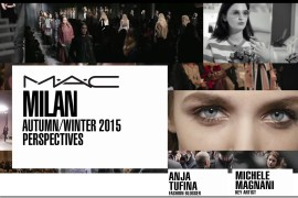 MAC Milan Fashion Week Anja Tufina Michele Magnani