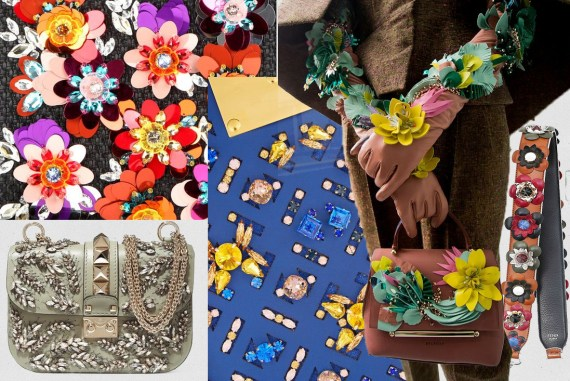 fall winter trends embellished bags