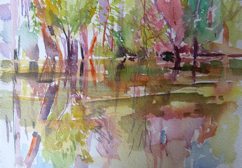 Jacinda Bayne Watercolour sketch 3
