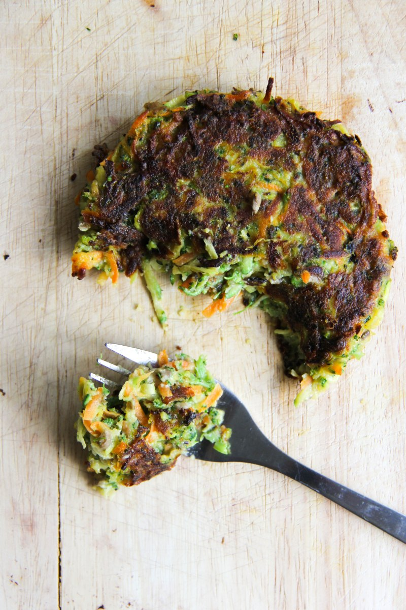 Shredded Veggie Burgers