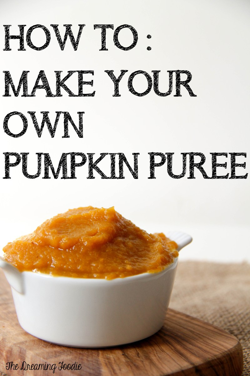 How To: Make Your Own Pumpkin Puree