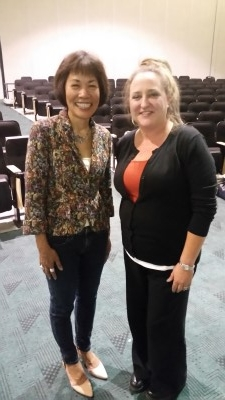 Professor Michelle Hart, my gracious C.H.A.P. host (courtesy of Alex Edillor).