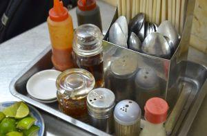 Pho condiments
