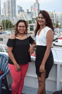 Trish Browning (Sales Manager) And Alyssa Mahadeo (Operations Manager | Chief Reporter_ - Toronto Caribbean Newspaper