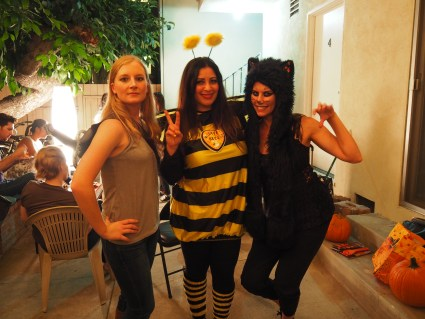 Emma Swan and Black Cat will help save the bees!