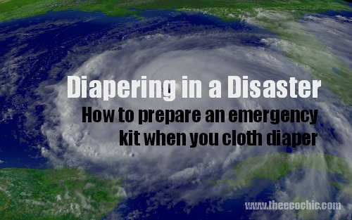 Diapering in a Disaster
