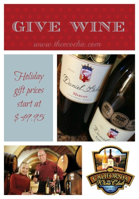 Give Wine from the California Wine Club