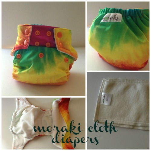 Moraki Cloth Diapers @TheEcoChic
