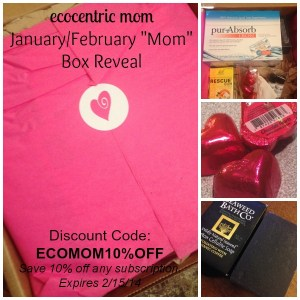 EcoCentric Mom Box Reveal