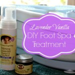 Lavender Vanilla DIY Foot Spa Treatment #EarthMama