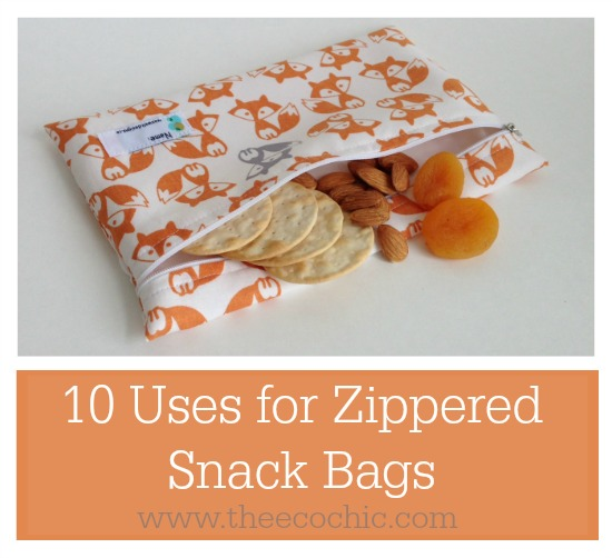 10 Uses for Zippered Snack Bags