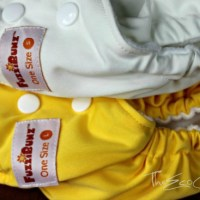 New! FuzziBunz One-Size Small & One-Size Large Pocket Diapers {Review}