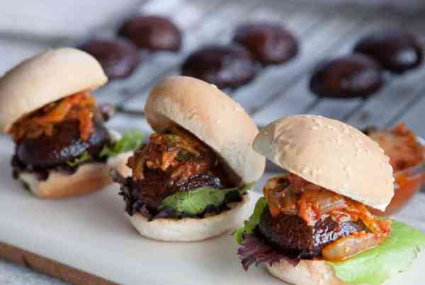 Portobello Mushroom Sliders | Veggie Burger Recipe