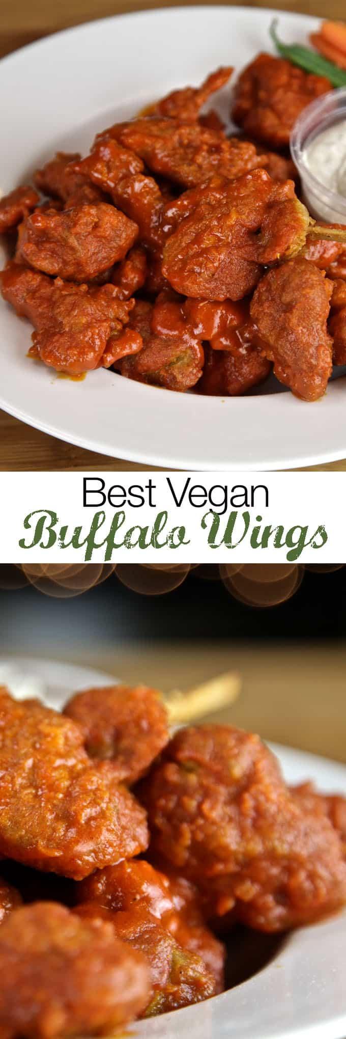 Vegan Buffalo Wings Recipe