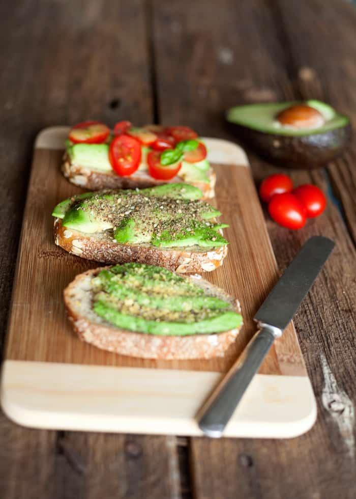 3 Easy Avocado Toast Recipes VEGAN | The Edgy Veg