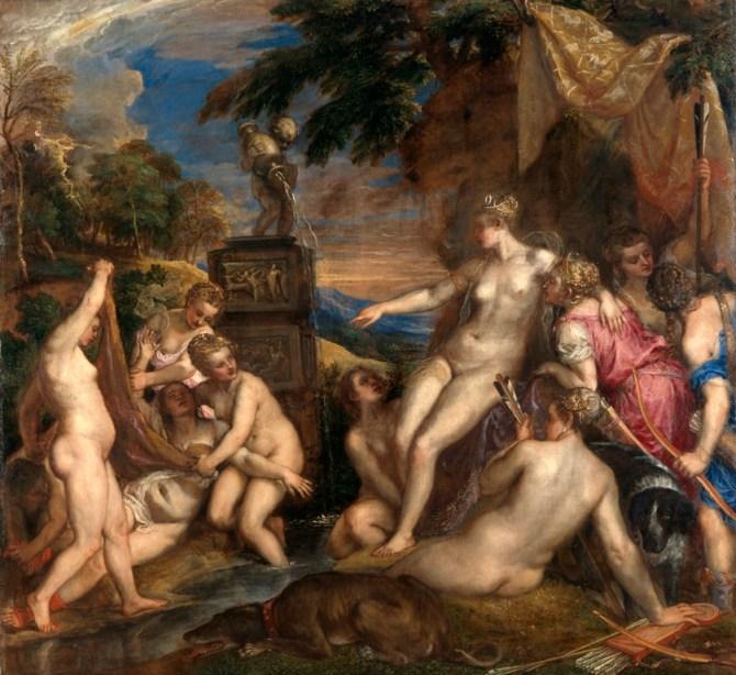 Titian (Tiziano Vecellio) - Diana and Callisto