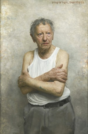 portrait of sam goldofsky - BP Portrait Awards 2015
