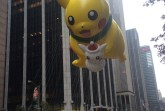 A Pokemon float in the Macy's Thanksgiving Day Parade.