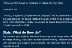 Online Post From the Developers of DCUO Stating The New Update