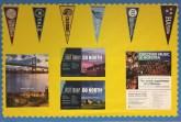 Edison's potential colleges bulletin board display near the college office.  Photo Credits: Aneesa Asgarali