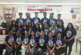 The HOSA: Future Health Professionals Chapter at Thomas Edison C.T.E. Photo Credit:  Margaret Savitzky