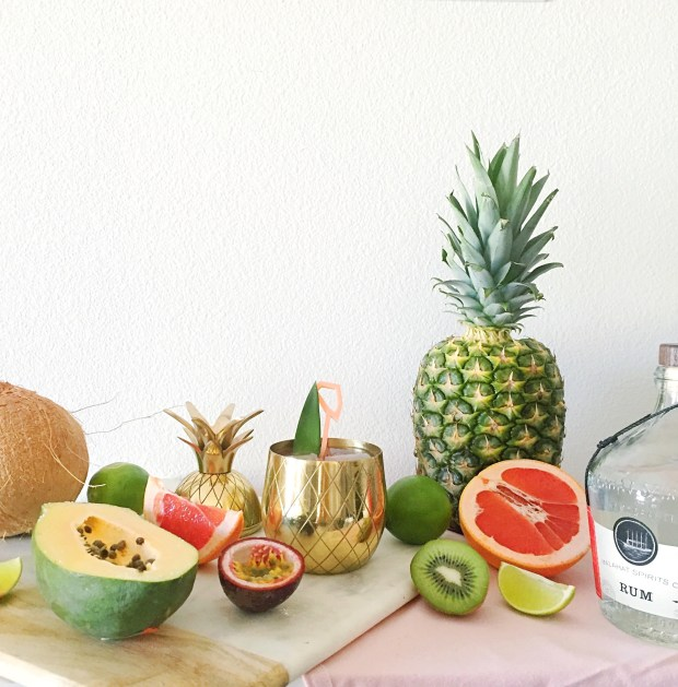 Tropical Guava Rum Punch | The ELL Blog