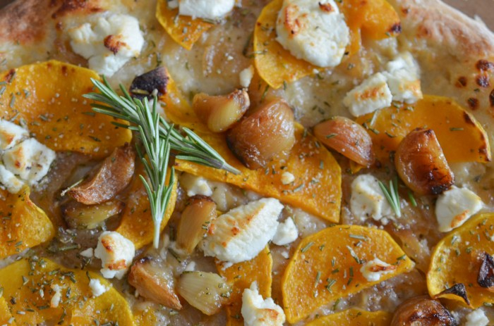Paleo Butternut Squash Pizzas with Rosemary