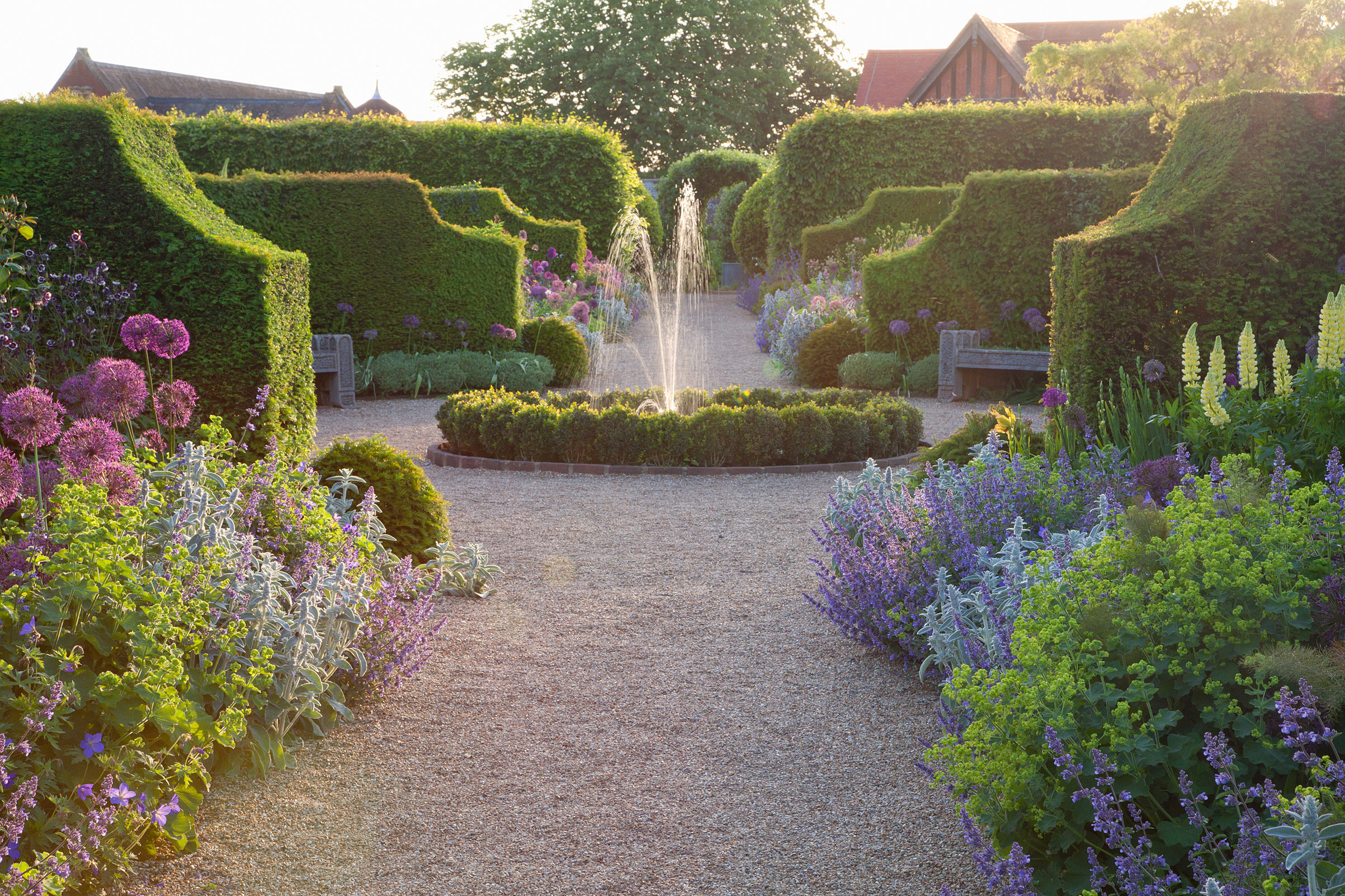 English garden of the week arundel castle the english for Design of the garden