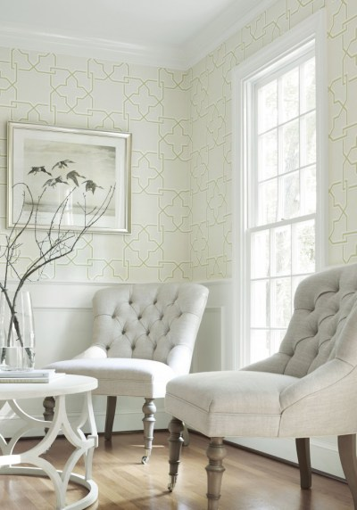 New Wallpaper Introductions: Thibaut Wallpaper Graphic Resource - The English Room