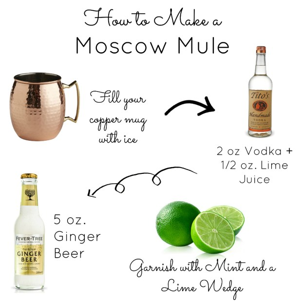 A classic moscow mule the everyday hostess for Easy vodka cocktails to make at home