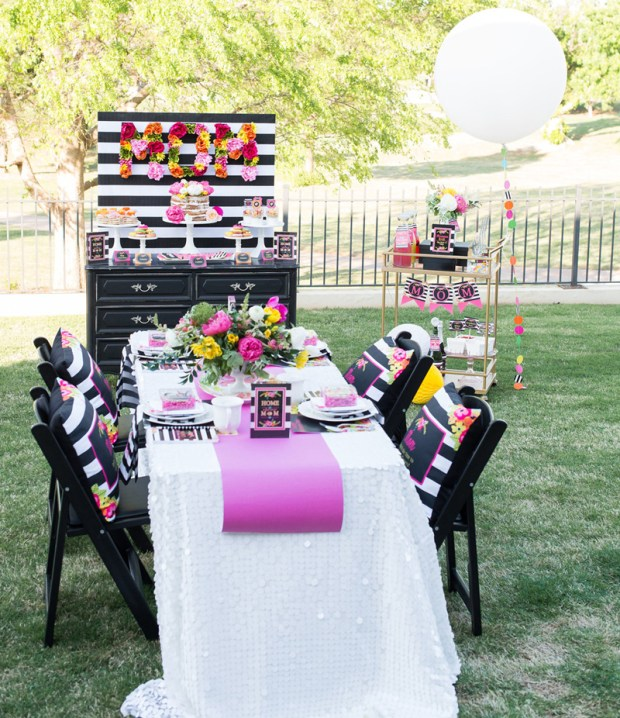 Lillian Hope Designs Mother's Day Tablescape