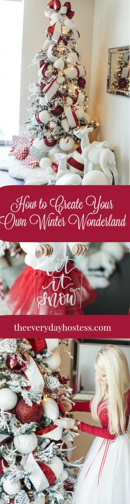 how-to-create-your-own-winter-wonderland - the everyday hostess