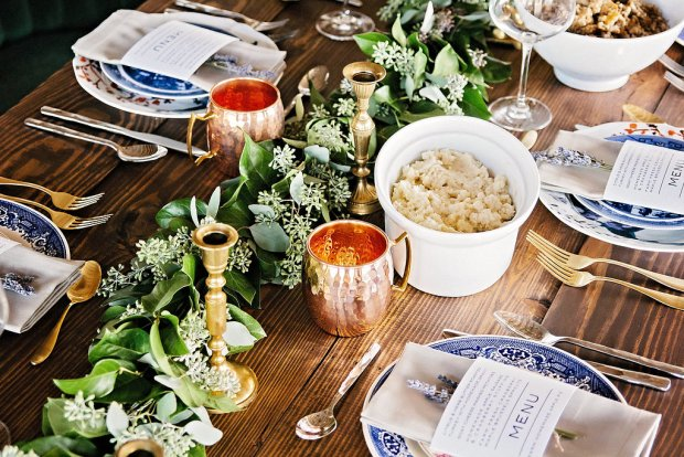 The Everyday Hostess Thanksgiving Table from the Iman Project 8