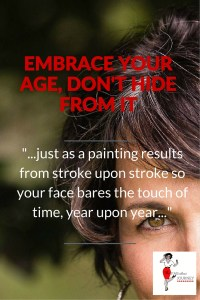 EMBRACE YOURAGE, DON'T HIDE FROM IT - Pin