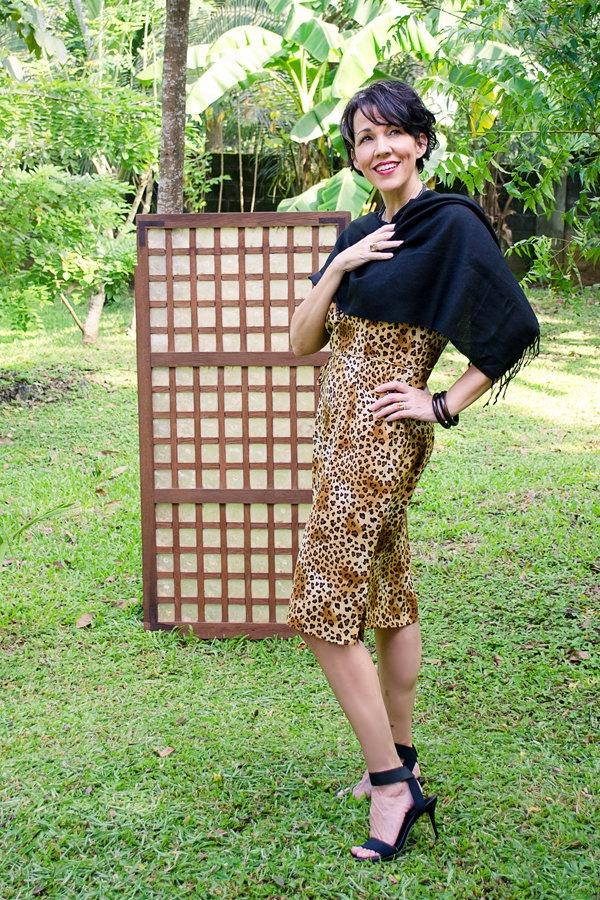 animal print, Maggy London dress