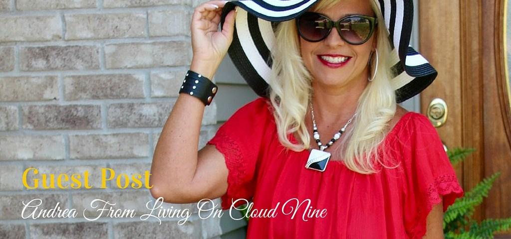 Off Shoulder Trend, Andrea from Living On Cloud Nine