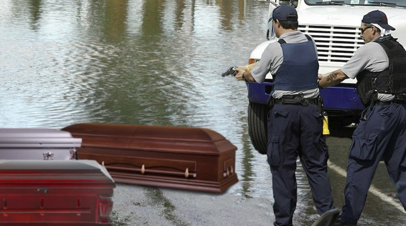 Police Arrest 14 Caskets for Looting During Louisiana Flooding