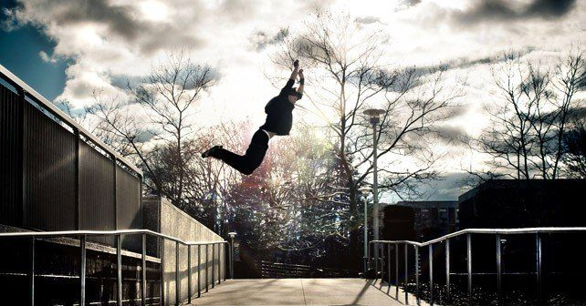 Amazing Parkour Photo