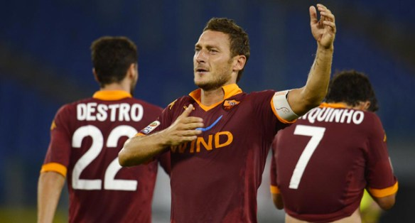 Captain Francesco Totti has undergone a rejuvenation under Zeman