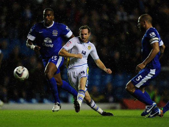 Aidan White scores versus Everton in the last round but will Leeds cause a cup upset again?