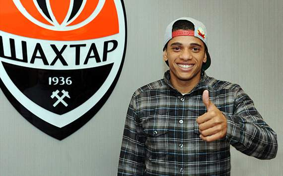 Taision - the latest Brazilian at Shakhtar Donetsk