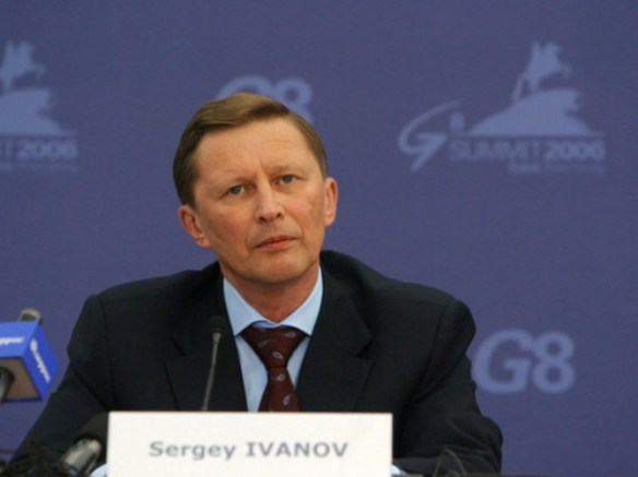 Weighing in on the debate: Russia's First Deputy Prime Minister, Sergey Ivanov, supports the formation of a CIS league